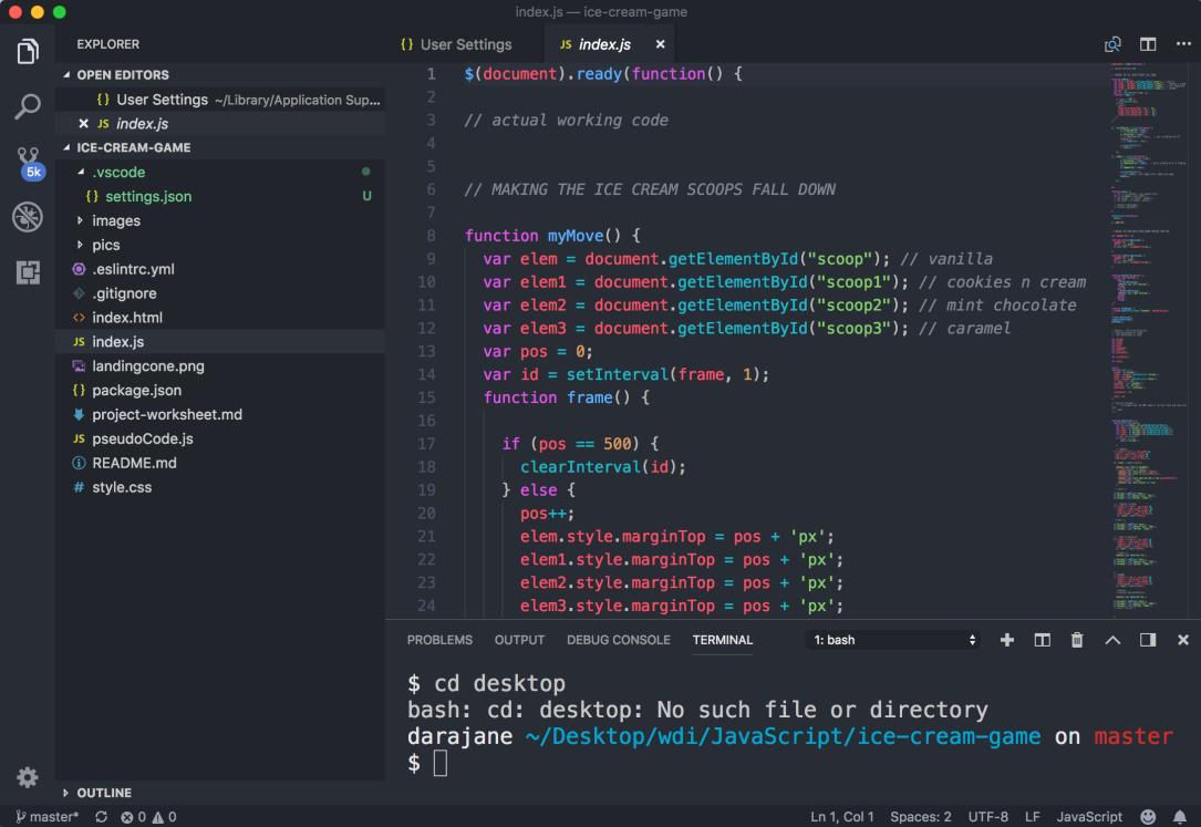 Visual Studio Code Setup – The Coding Journey